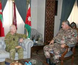 Jordan, Australia Discuss Military Cooperation