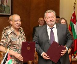 Jordan, Russia Sign Military Cooperation Memorandum