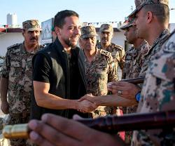 Jordan's Military Command Celebrates Crown Prince's Birthday