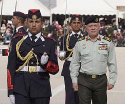 Jordan's Supreme Commander Patronizes Military Graduation Ceremony
