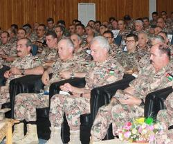 Jordanian Army Chief Calls for Highest Degree of Vigilance