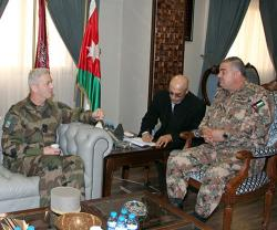 Jordanian Army Chief Receives French Chief-of-Staff