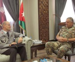 Jordanian Army Chief Receives German Military Delegation