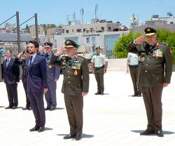 Jordanian King Attends Armed Forces Ceremony Marking Accession to the Throne
