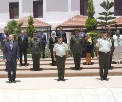 Jordanian King Attends National Defence College Graduation Ceremony