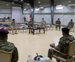 Jordanian King Meets Armed Forces Unit Commanders