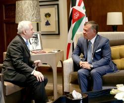 Jordanian King Receives Two U.S. Military Delegations