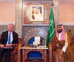 Saudi Defense Minister Meets US, French, British Counterparts