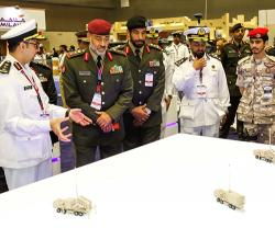 Kuwait's Deputy Chief-of-Staff Tours DIMDEX 2018