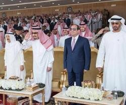 Kuwait's Emir Attends Closing Ceremony of Gulf Shield 1