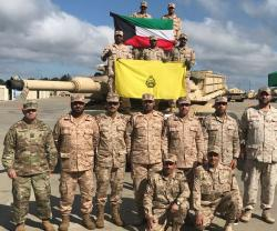 Kuwait Military Team Participates in Sullivan Cup Tank Competition