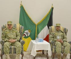 Kuwait National Guard Undersecretary Opens CBX-16 Command Center Drill