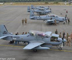Lebanon Receives Second Batch of 4 Super Tucano Aircraft