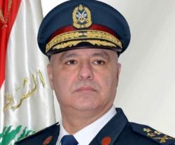 Lebanon's Army Chief Hails UAE Role to Combat Terrorism