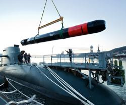 Leonardo to Supply Black Shark Advanced Torpedoes to Italian Navy