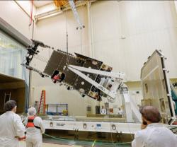 Lockheed Martin Completes Assembly on Arabsat-6A Satellite