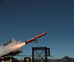 MBDA's New MARTE ER Missile on Target in Second Test Firing