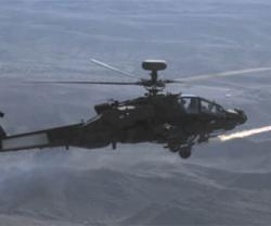 MBDA Demos Brimstone Missile Firing from Apache Helicopter