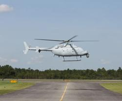 NGC Begins MQ-8C Fire Scout Flight Tests in Missouri