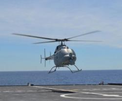 MQ-8C Fire Scout Completes 1st Flight from US Navy's LCS