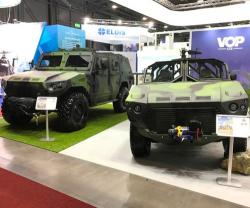 VOP CZ, NIMR Automotive Unveil First Joint Military Vehicle