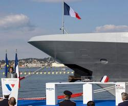 Naval Group Delivers Enhanced FREMM DA Alsace Frigate to French Navy