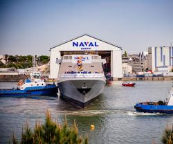 Naval Group Launches 9th FREMM Frigate - Alsace