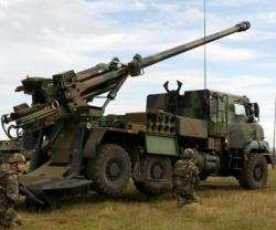Nexter's Artillery at Defense & Security 2017 Bangkok