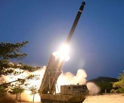 "North Korea Tests ""Super-Large"" Rocket Launchers"