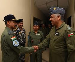 Omani, Indian Air Forces Launch Joint Military Exercise