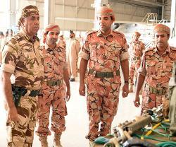 Omani Chiefs Visit Al Musanaa, Thumrait, Masirah Air Bases