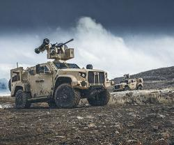 Oshkosh Defense Celebrates Production of the 10,000th JLTV