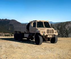 Oshkosh FMTV A2 Makes Debut at AUSA 2018