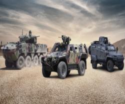 Otokar Exhibits 3 Armored Vehicles in Kazakhstan
