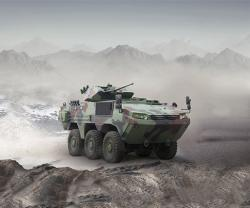 Otokar Presents ARMA 6x6 and COBRA at IDEX 2019