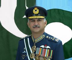 Pakistan's Chief of Air Staff Receives Saudi Ambassador