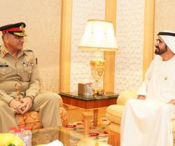 Pakistan's Chief of Army Staff Visits UAE