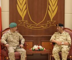 Peninsula Shield Forces Commander Visits Bahrain
