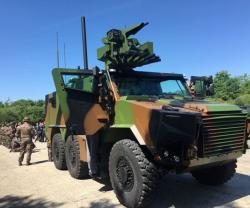 First Parade for French Army's Future Connected Armored Vehicle