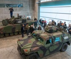 RUAG, Swiss Army Present Live Training to the Media