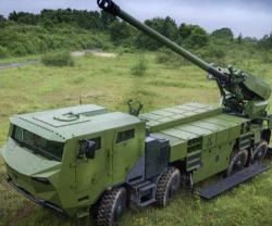 Denmark Selects Nexter's 8x8 CAESAR® Artillery System