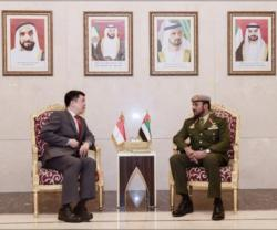 UAE, Singapore Review Regional Security Issues
