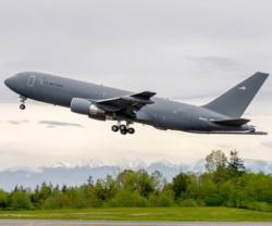 Boeing's KC-46A Tanker Joins Flight Test Program
