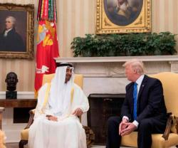 Abu Dhabi Crown Prince Meets US President, Defense Secretary