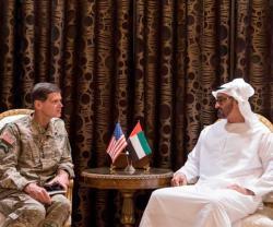 Abu Dhabi Crown Prince Receives U.S. Central Commander