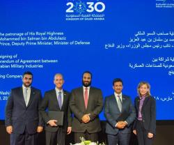 Saudi Arabian Military Industries, Boeing Form Joint Venture