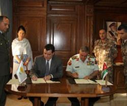 Jordan, Cyprus Sign Military Cooperation Agreement