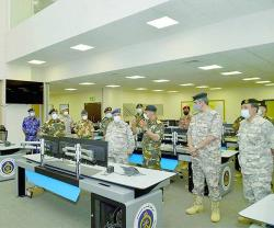 Qatar's Chief-of-Staff Visits Oman's Maritime Security Center