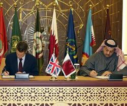 Qatar's Defense Minister Visits BAE Systems Sites in UK