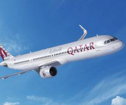 Qatar Airways Reconfirms Order for 50 A321neo ACF